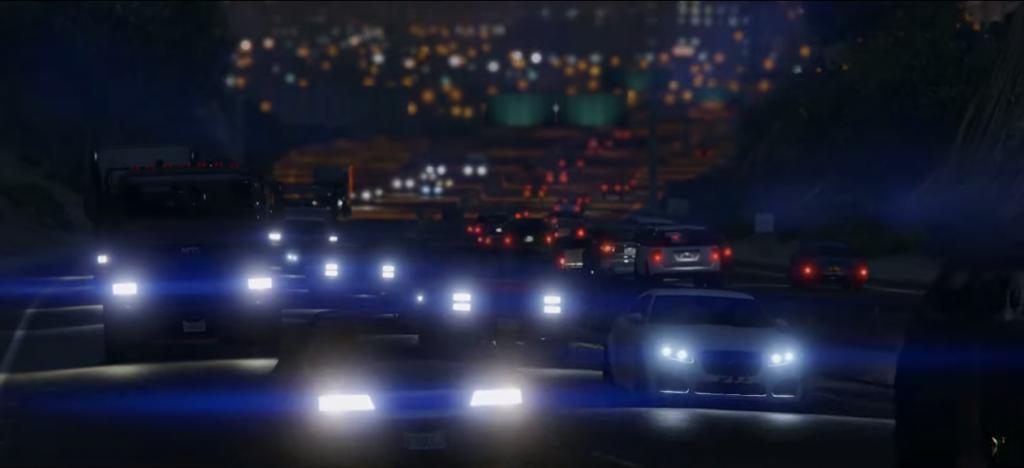 GTA V para nova geração Mais carros nas ruas