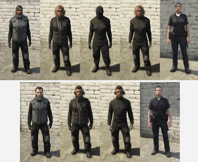 GTA Online roupas
