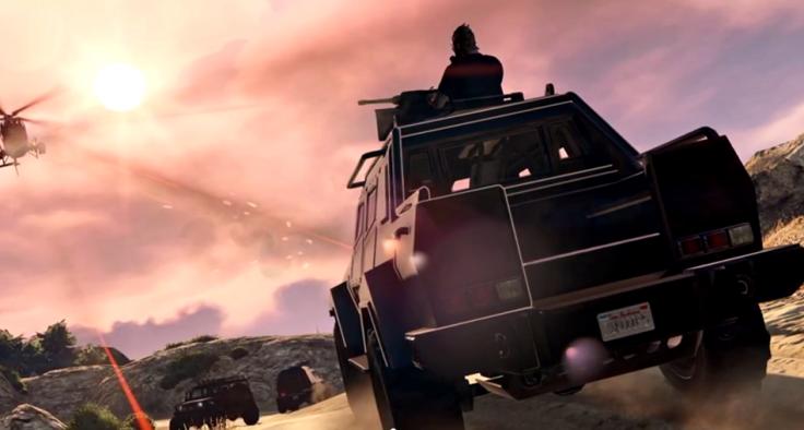 Esta é a segunda versão da Insurgent com metralhadora.