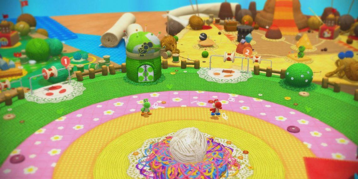 Confira novas imagens de Yoshi's Woolly World