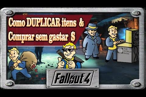 Fallout 4 - 2 em 1 ( Como dupar itens & Como comprar sem gastar dinheiro )