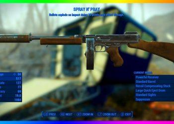 Fallout 4 – Atirar e Rezar , uma das melhores armas do jogo