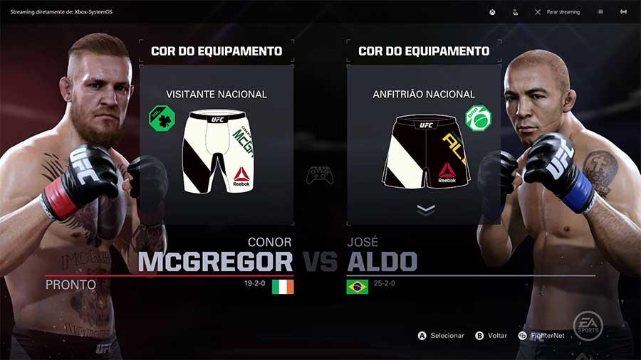 UFC 2 Uniformes