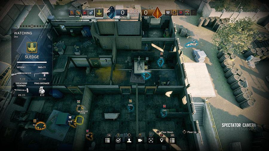 Conhecer os mapas Rainbow Six Siege