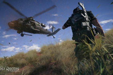Ghost Recon Wildlands Helicóptero