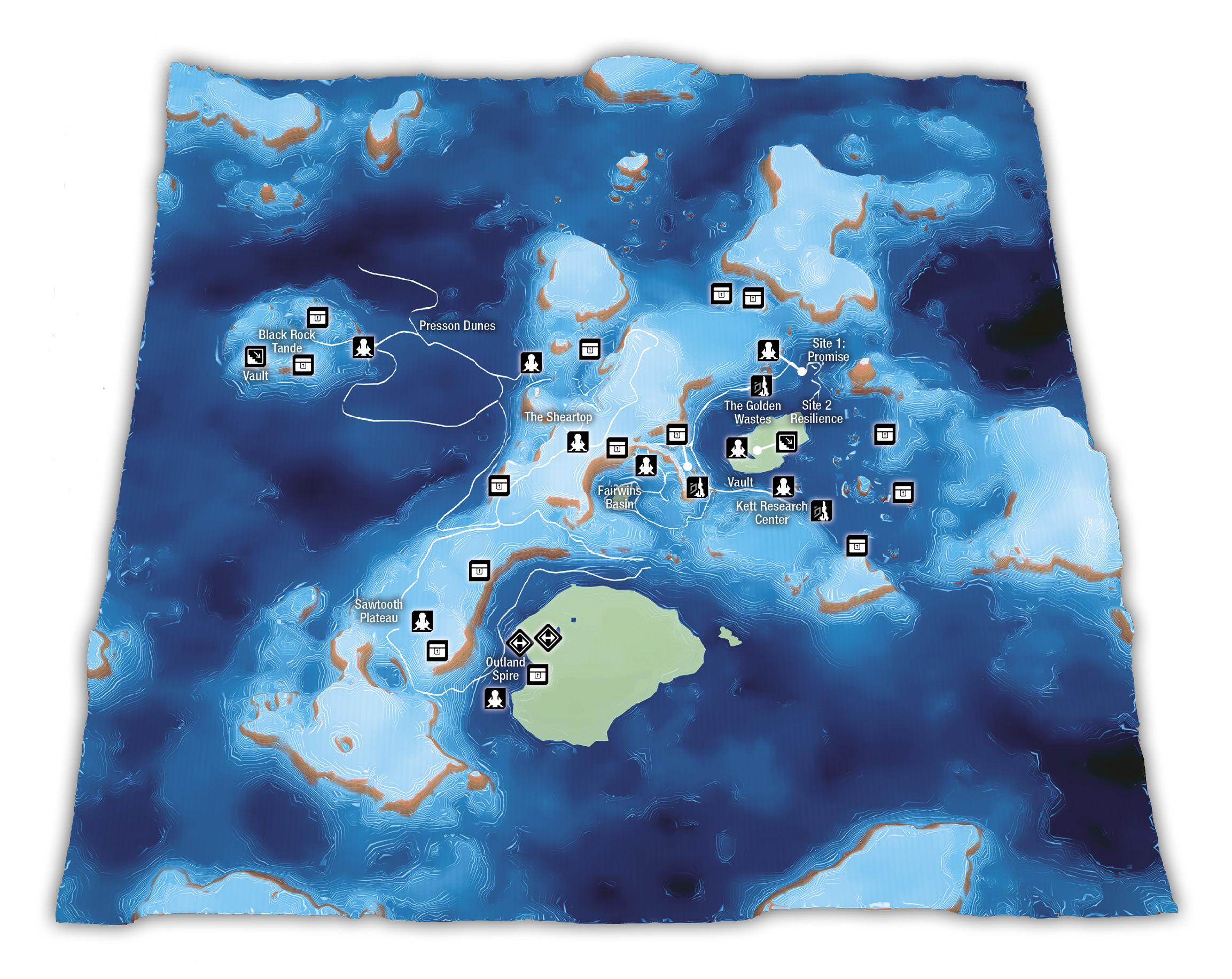 Mass Effect Andromeda Mapa EOS