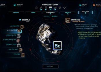Mass Effect Andromeda Inventario