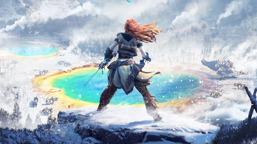 Horizon Zero Dawn The Frozen Wilds GFF