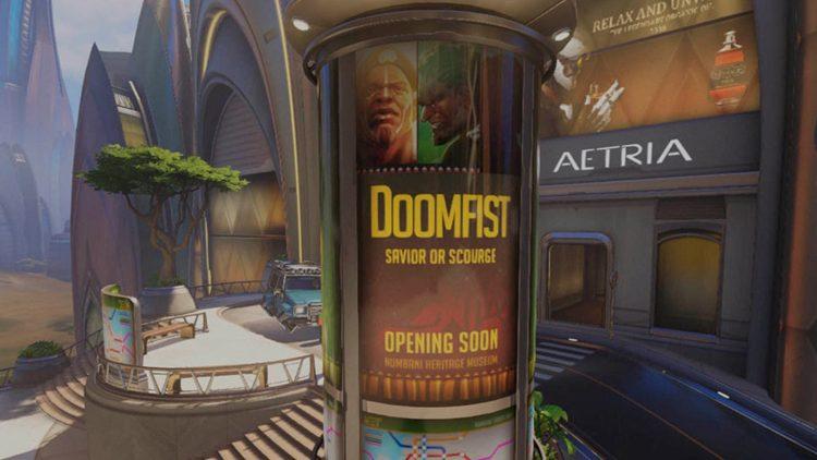Anúncio de Doomfist como herói deve sair em breve — Overwatch