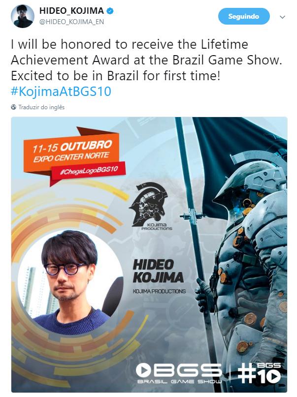 Kojima Tweet