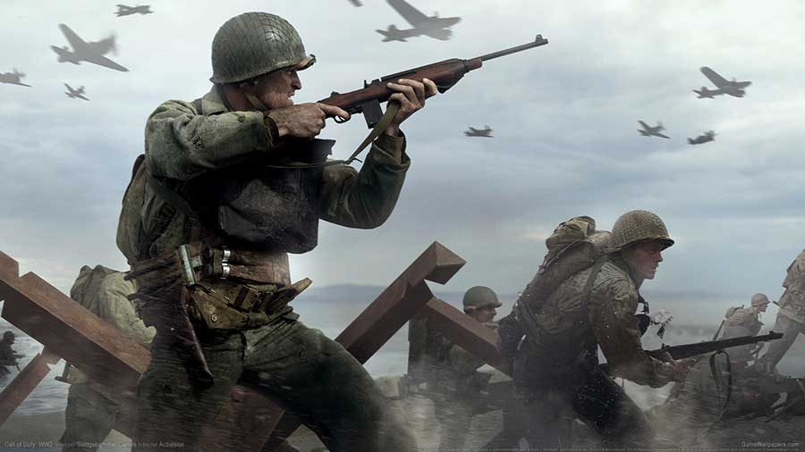 WWII apresenta personagens em quatro novos trailers — Call of Duty