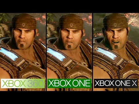 gears of war 3 xbox 360 vs xbox one vs xbox one x. Black Bedroom Furniture Sets. Home Design Ideas