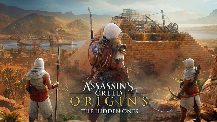 A primeira expansão de Assassin's Creed Origins sairá em breve