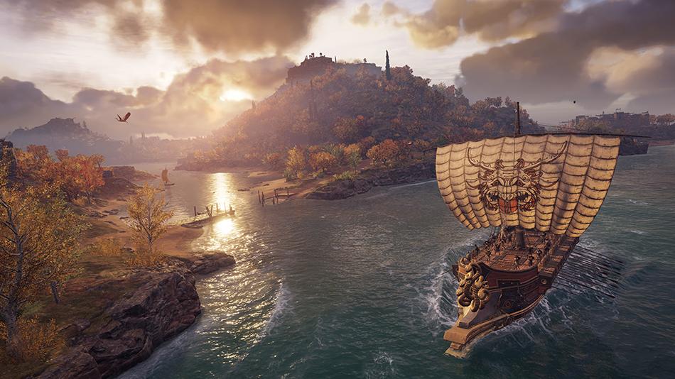 Assassin's Creed Odyssey Navegação