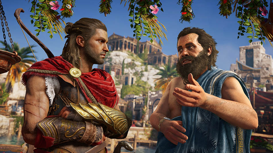 Assassin's creed odyssey personagens históricos