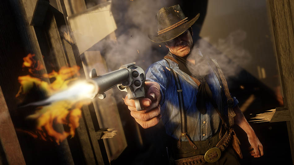 Red Dead Redemption 2 Habilidades e combate