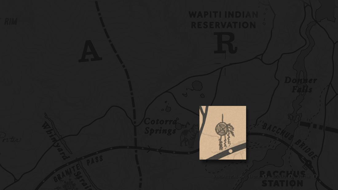 Localizações Apanhadores de Sonhos Red Dead Redemption 2