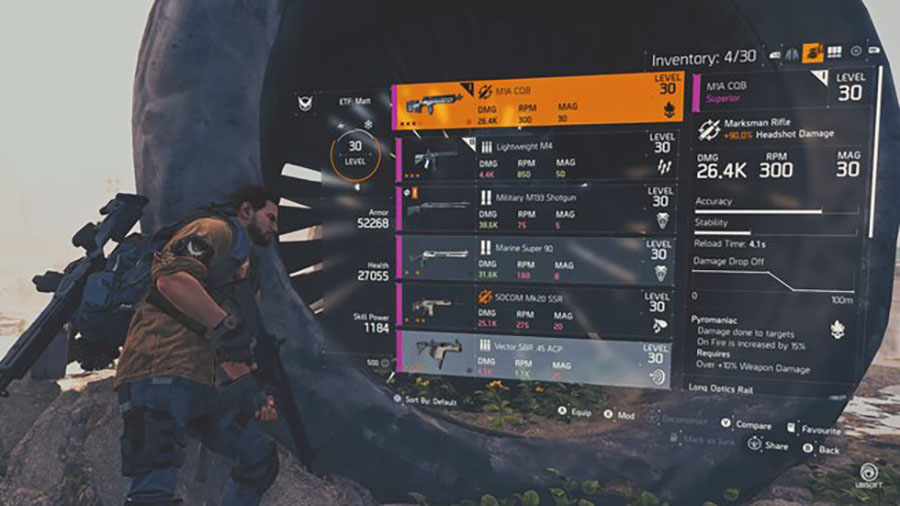 The Division 2 RPG