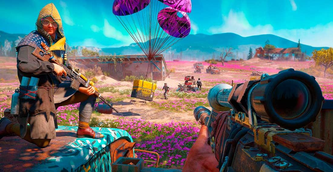 Armas de Aluguel Far Cry New Dawn