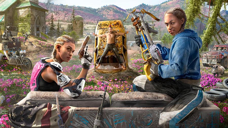 Far Cry New Dawn História