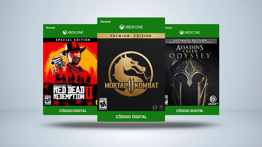 Código de 25 Dígitos Xbox One