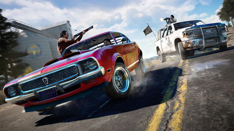 Far cry 5 veículos