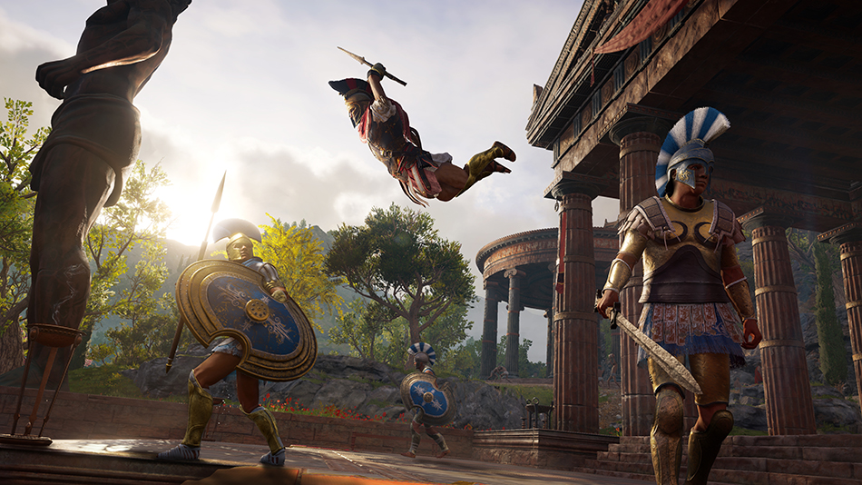 Assassin's Creed Odyssey Modos de jogo