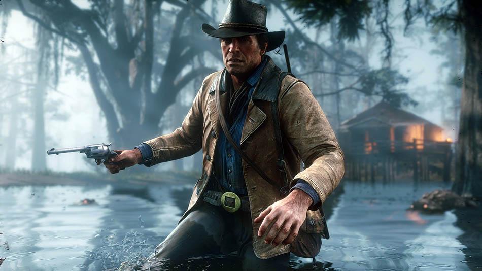 Red Dead Redemption 2 Gráficos e animações