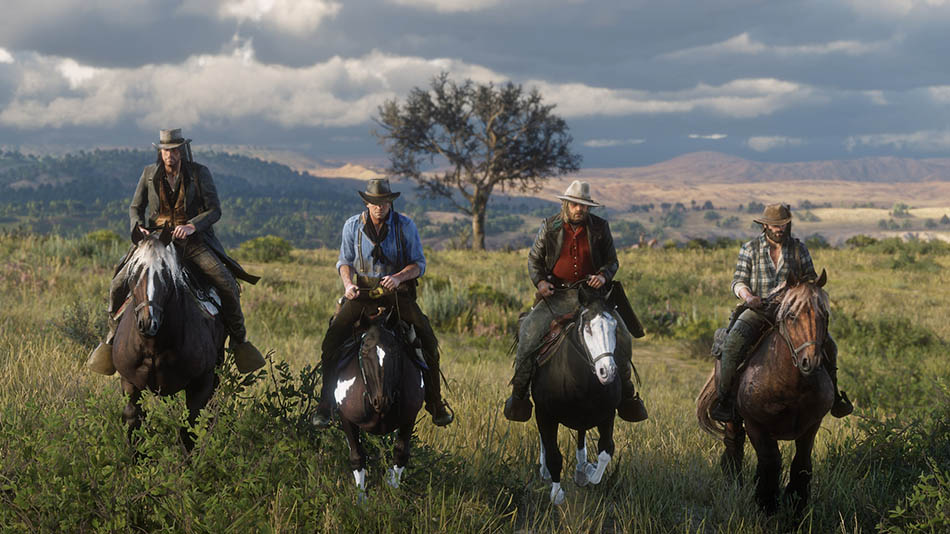 Red Dead Redemption 2 Interações com personagens