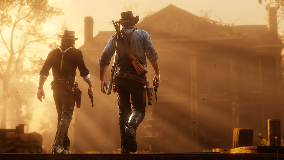 Red Dead Redemption 2 a história