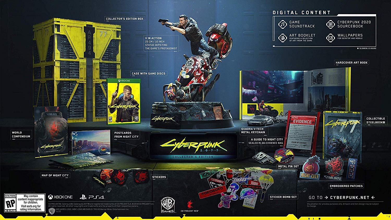 Cyberpunk 2077 versão de colecionador