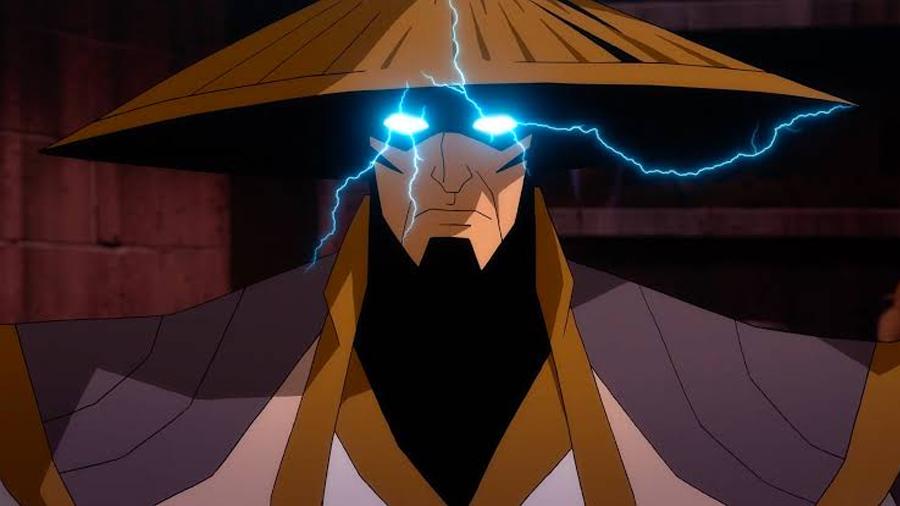 Raiden - Mortal Kombat Legends: Scorpion's Revenge