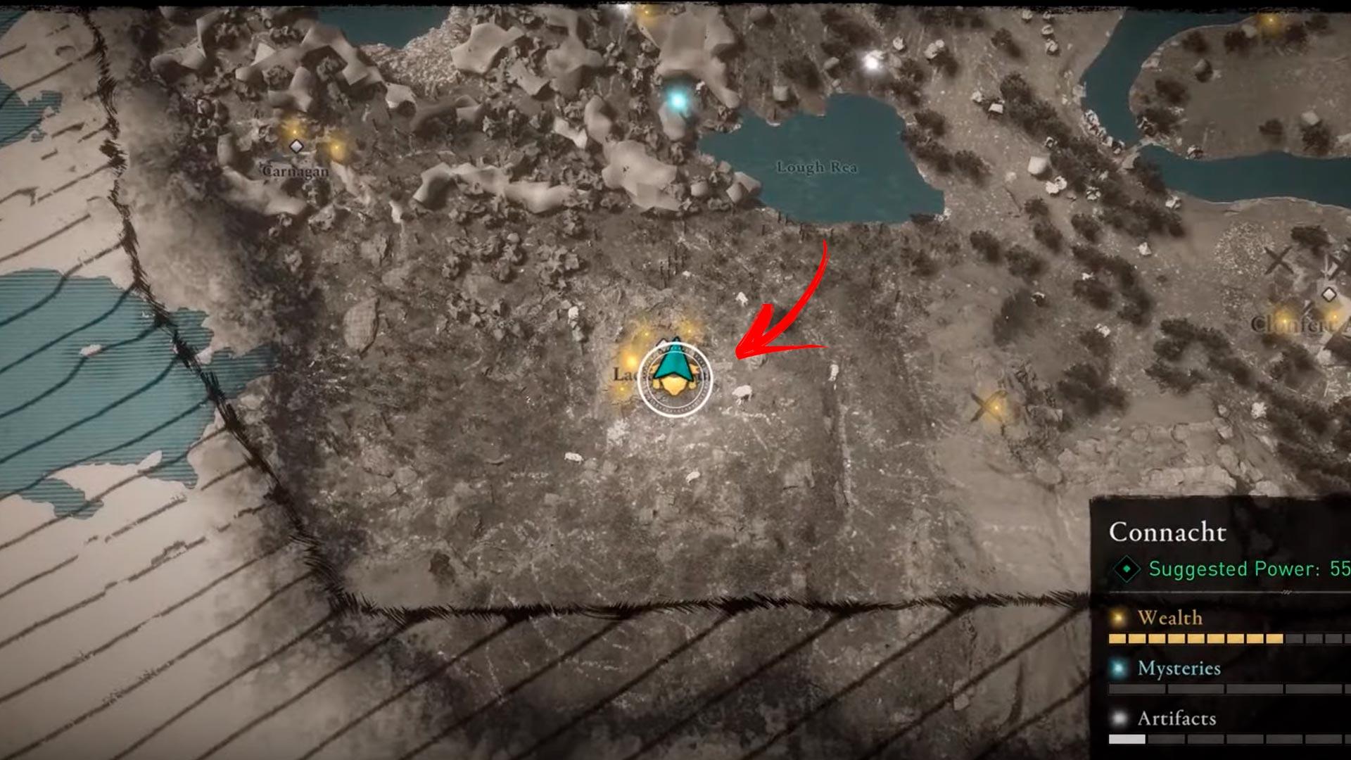 Foice-cerimonial-mapa